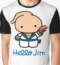 Hello Jim Graphic T-Shirt