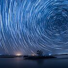 Star Trails - Western Australia by Mark  Nangle