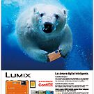 Lumix Ad using my image by Mark Snelson