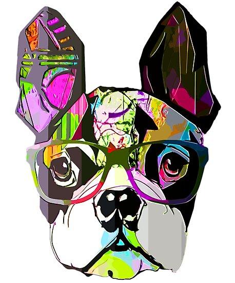 Funny English Bulldog Gift - English Bulldog Art Shirt Store by loveteens