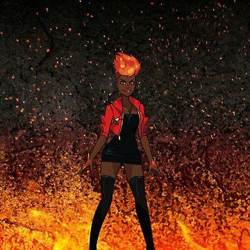 Monster Prom: Amira by raybound420