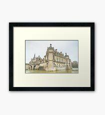 Chateau de Chantilly Framed Print