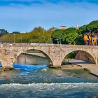 Bridge over the Tiber by Viv Thompson