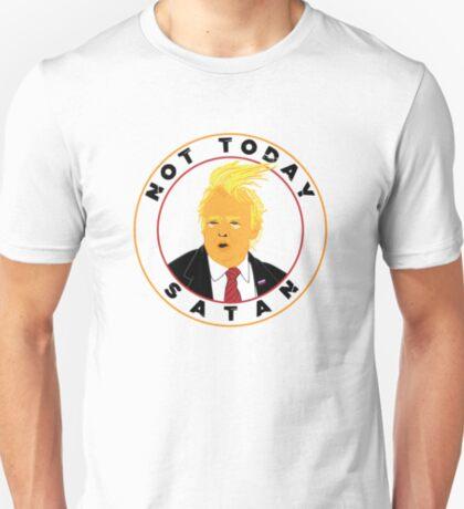 Not Today Satan Trump T-Shirt