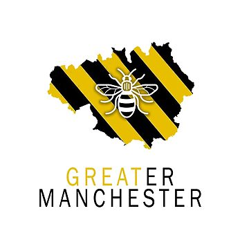 Greater Manchester Bee by RobinBegins