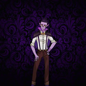 Monster Prom: Liam De Lioncourt  by raybound420