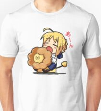 Saber Lion Chibi - A~n Unisex T-Shirt