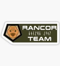 Rancor Team Airsoft | Badge Sticker