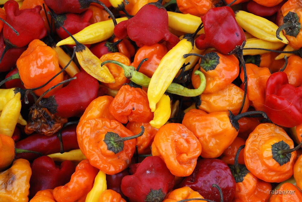 Market - Party Peppers by rabeeker
