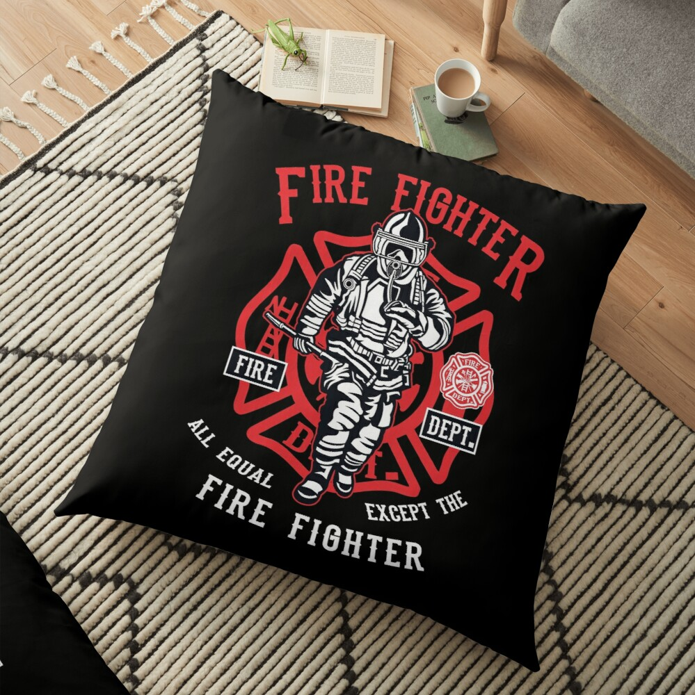 FIRE FIGHTER Bodenkissen