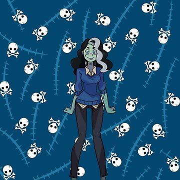 Monster Prom: Vicky  by raybound420