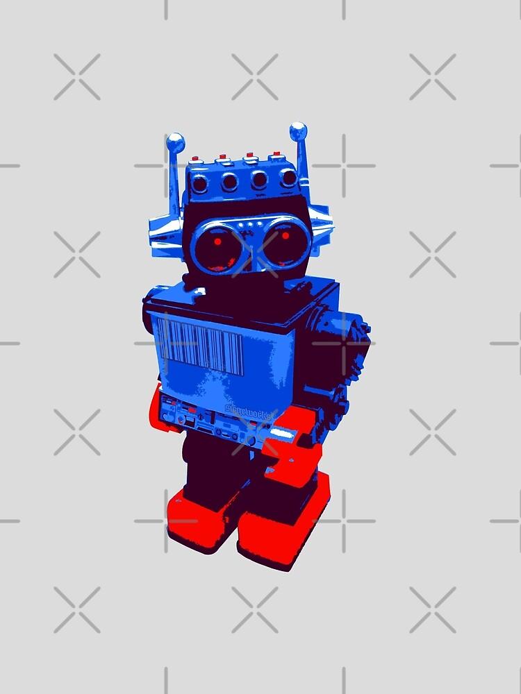 Techno Robot by Chris Jackson