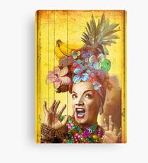 Tropical Miranda Metal Print