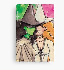 Wickitita - Wicked meets Mamma Mia! Canvas Print