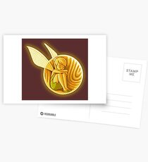 Inside the golden snitch Postcards