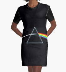 The Dark Side Of The Moon Graphic T-Shirt Dress