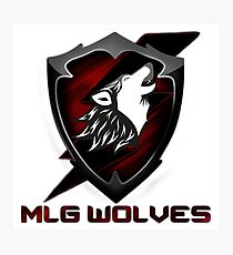 MLG Wolves Photographic Print