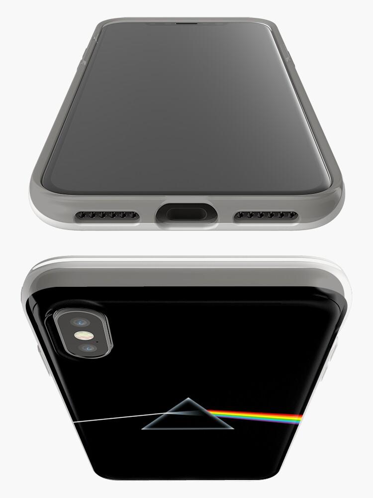 Vista alternativa de Funda y vinilo para iPhone El lado oscuro de la luna