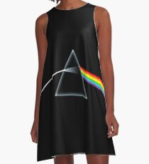 The Dark Side Of The Moon A-Line Dress