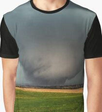 Roaming the Earth - Large Tornado in Northern Kansas Graphic T-Shirt
