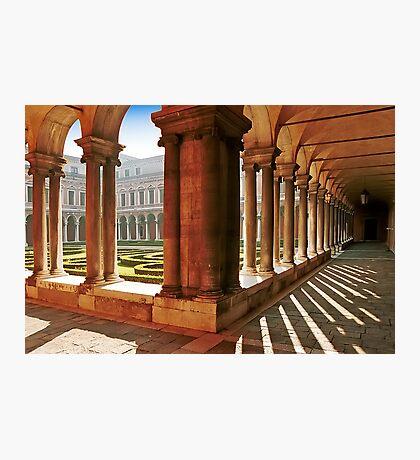 Venezia  - S.Giorgio Maggiore - Internal Cloister Photographic Print