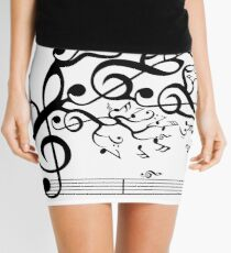 The Sound of Nature In Motion Mini Skirt