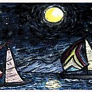 Sail Away by Monica Engeler
