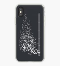 The Sound of Nature In Motion - White iPhone Case