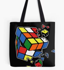 Exploding Cube Tote Bag