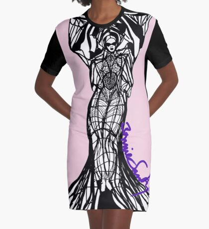 Woman Within5 Graphic T-Shirt Dress
