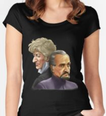 The Doctor and the Master Women's Fitted Scoop T-Shirt