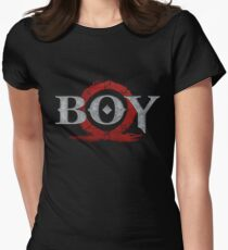 God of War : Boy Women's Fitted T-Shirt