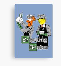 Breaking Beaker Canvas Print
