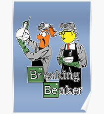 Breaking Beaker Poster
