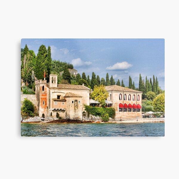 Locanda San Vigilio, Lake Garda Metal Print