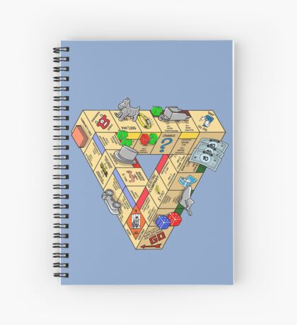 The Impossible Board Game Spiral Notebook