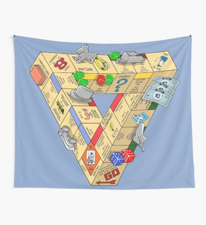 The Impossible Board Game Wall Tapestry