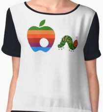 Very Hungry for Apple Chiffon Top