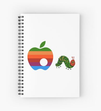 Very Hungry for Apple Spiral Notebook