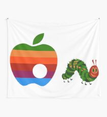Very Hungry for Apple Wall Tapestry