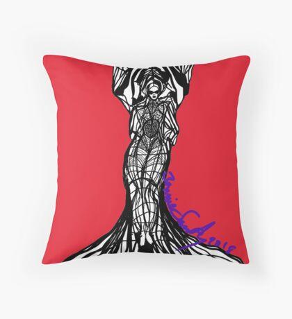 Woman Within2 Throw Pillow