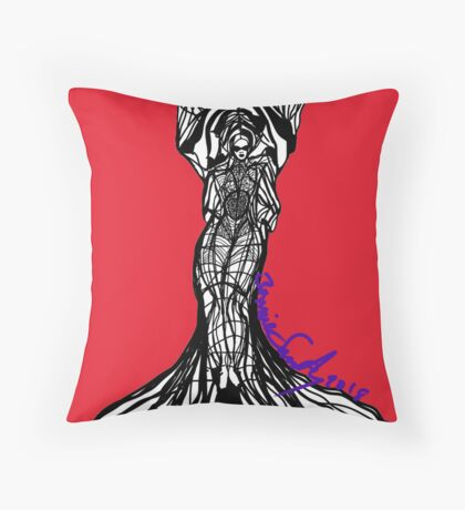 Woman Within2 Floor Pillow
