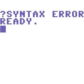 Syntax Error by BradleySMP