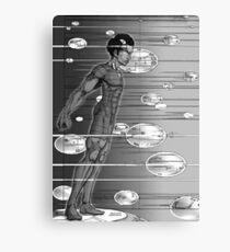 Graphic Novel Image - Robbie Digital on Digital Data Comet Canvas Print