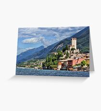 Castello Scaligeri, Malcesine, Lake Garda Greeting Card