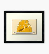 Jelly Shark Framed Print