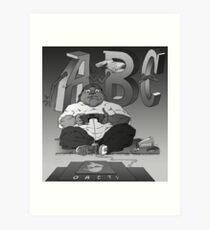 Graphic Novel Image - OBC T.V. Art Print