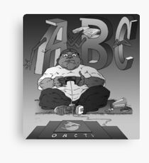 Graphic Novel Image - OBC T.V. Canvas Print