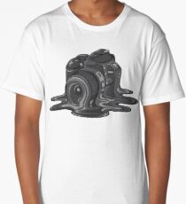 Camera Melt Long T-Shirt