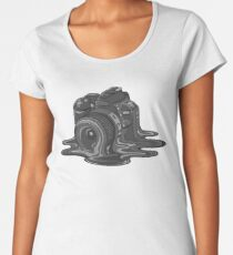 Camera Melt Women's Premium T-Shirt